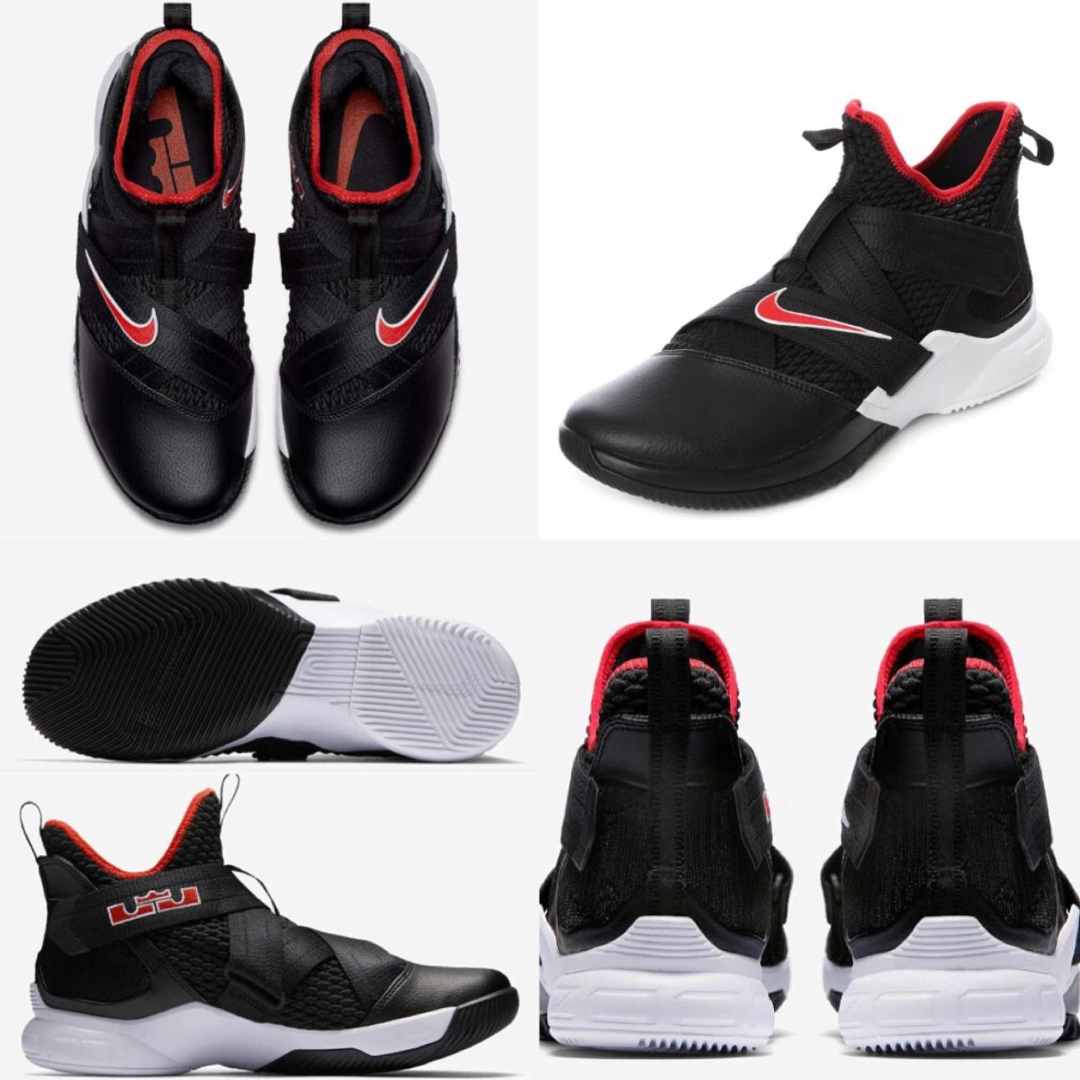 finest selection a114a 52051 Tenis Nike Básquet Lebron Soldier Xii Negro #5 Al #11 Mx