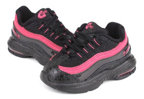 Tenis Nike Bebe Casual Air Max 95 Toddler Retro Oferta Unico