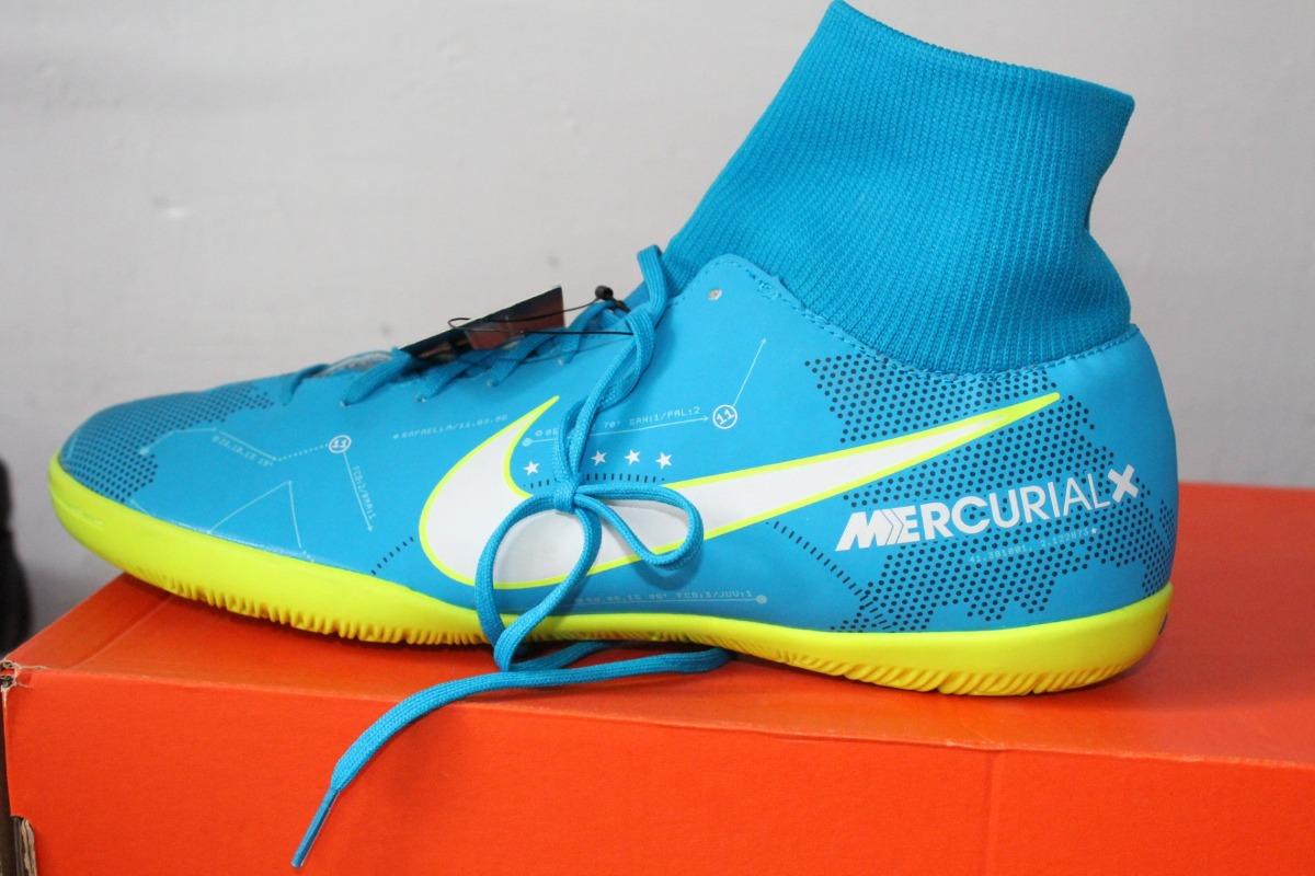 the latest 047c4 e5571 Tenis Nike Bota Mercurial X Neymar 100% Originales