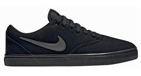 Tenis Nike Casual Sb Dama Textil Negro Gris 91457 Dtt