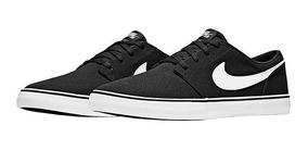 Tenis Nike Casual Sb Mujer Textil Negro Blanco 35788 Dtt