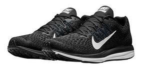 Tenis Nike Casual Zoom Flywire Reflec Dama Negro 62228 Dtt
