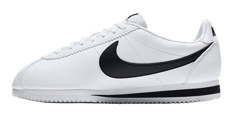 policía Marina precedente  Tenis Nike Classic Cortez Leather Blanco,paloma Negra,casual ...
