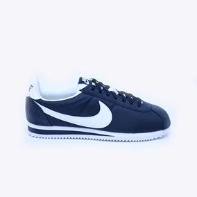 Azul Nylon Tenis Cortez Nike Classic yIvYb76mgf