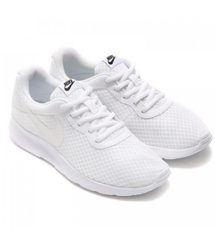 Tenis Nike Color Blanco Modelo Tanjun Envío Gratis - $ 1,399.00 en ...