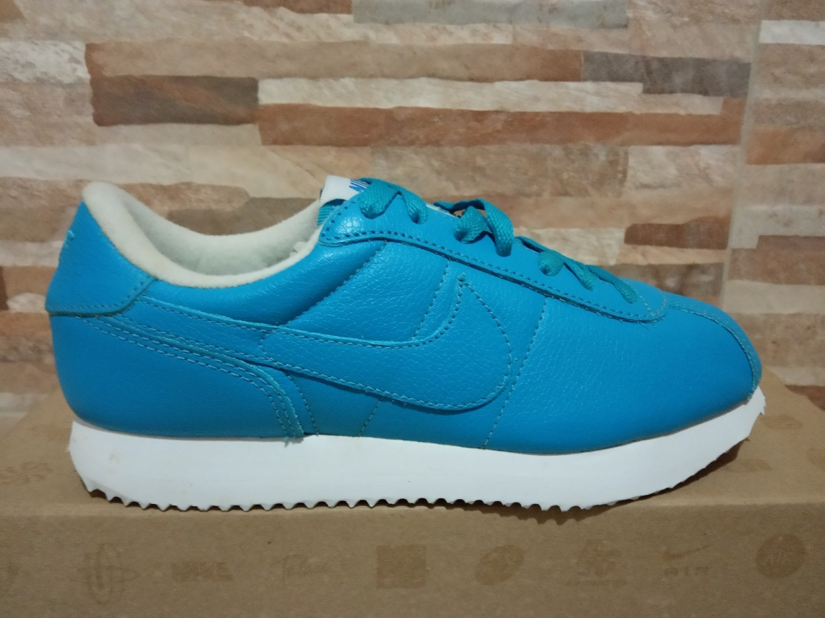 sports shoes 4d3f0 c9d1f Tenis Nike Cortez 36 Azul Em Couro Lowrider Lowrider Chicano