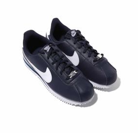 Tenis Caja 100Originales Cortez Cm C Basic Nike Azul23 SVzMpUq