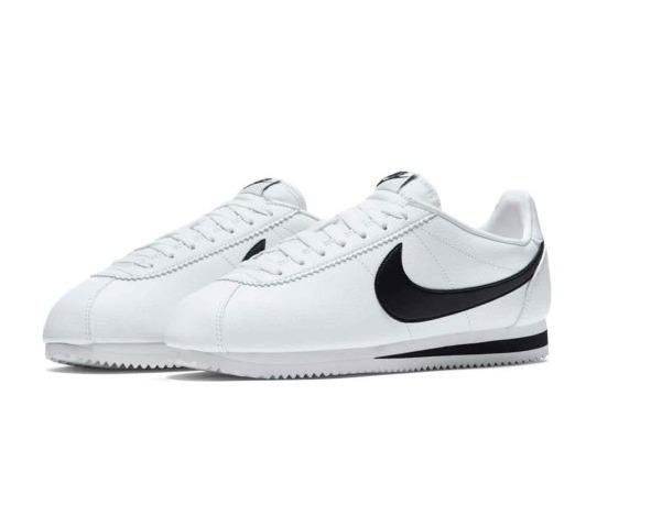 Tenis Nike Cortez Clasico Piel Blanco Originales Nuevos Caja ... 44fc5fe45fe60