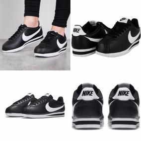Negro Nike Tenis Cortez Piel22 Al26 MxCon Caja ZOkiPXuT