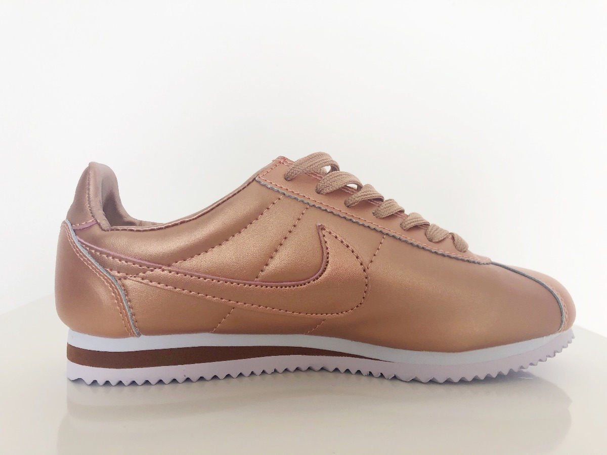 outlet store eceee 64dd5 Tenis Nike Cortez Rose Gold (mujer)