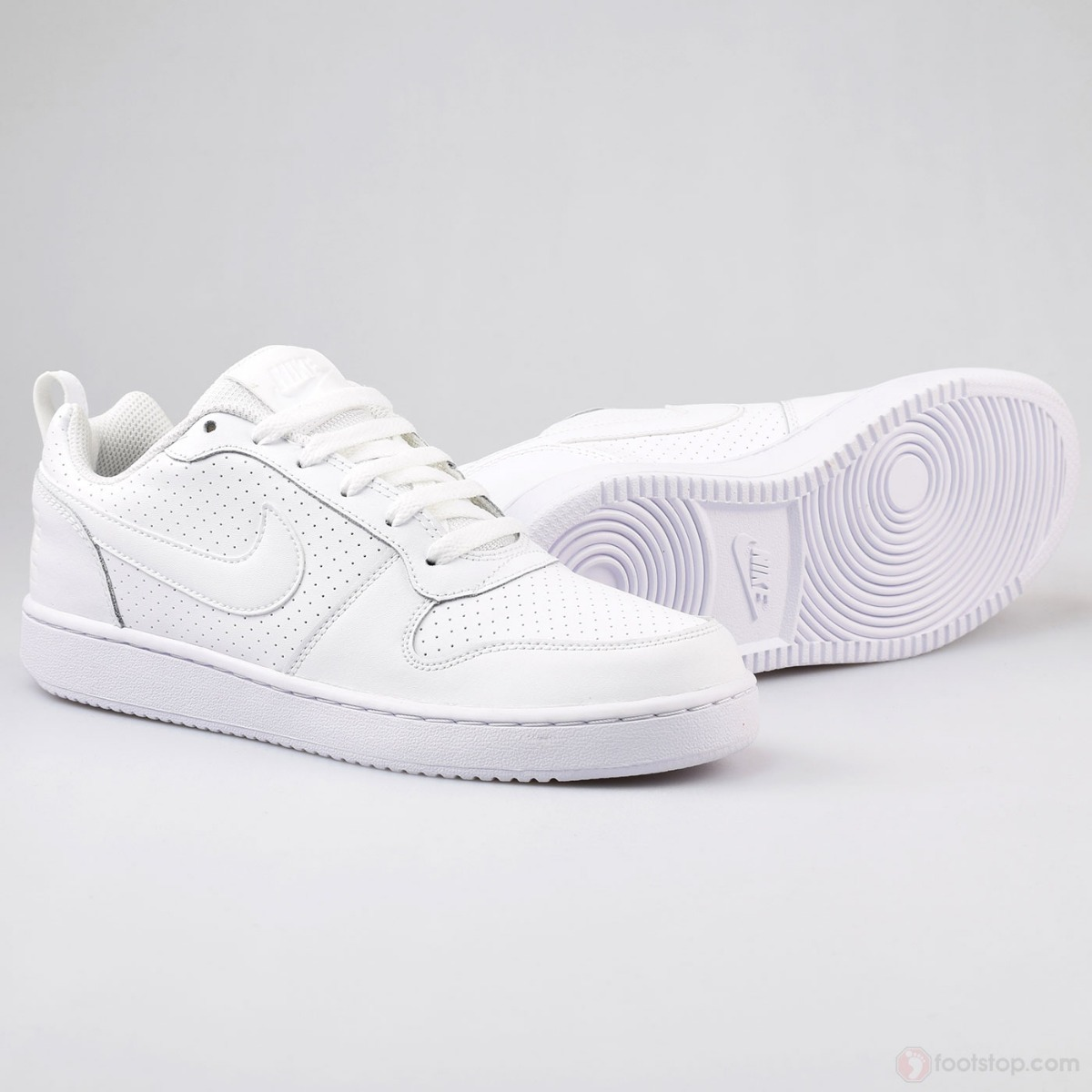 0b95d5a531d tenis nike court borough low 844905 110 blanco. Cargando zoom.