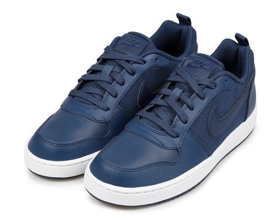ed0c4e5eb87 Tenis Nike Court Borough Low Azul Dama Unisex Moda Gym Retro ...