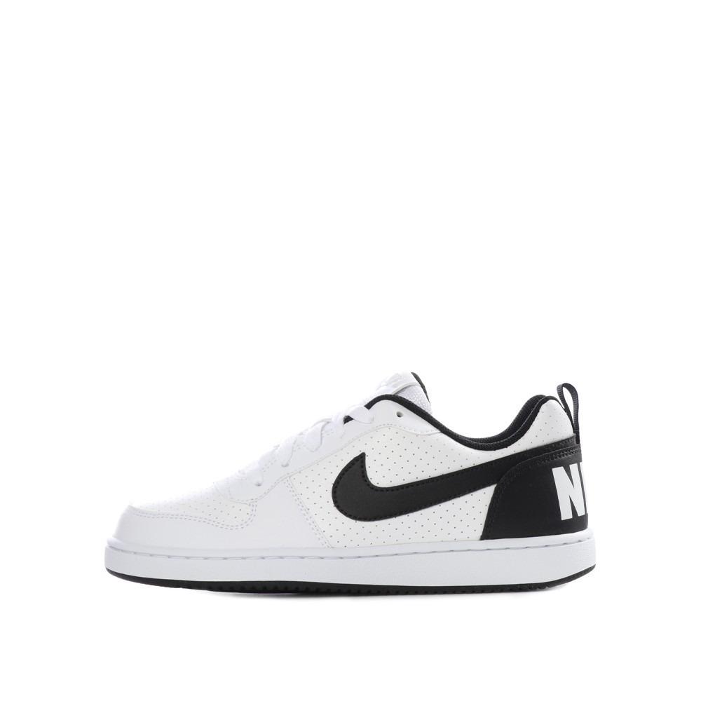 Tenis Nike Court Borough Low Blanco Negro 22.5 25 Originales