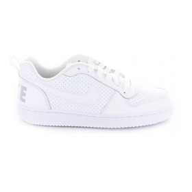 Tenis Nike Court Borough Low Gs 839985-100 Blanco
