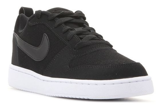 brillante n color gran selección de 2019 compra original Tenis Nike Court Borough Low Negro 844905 001 - $ 1,390.00 en ...