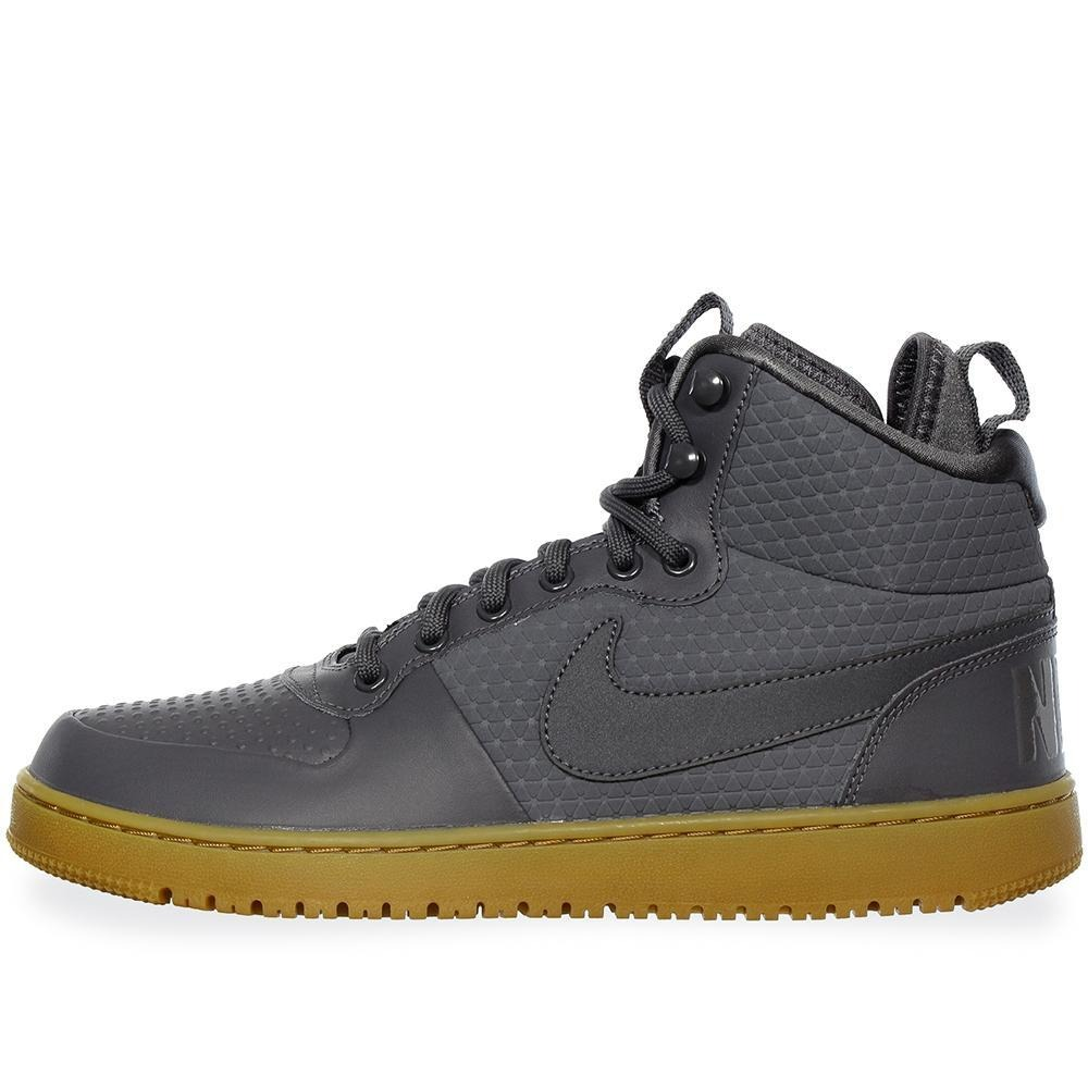 tenis nike court borough mid - aa0547001 - gris obscuro - ho. Cargando zoom. ad61ca7c237