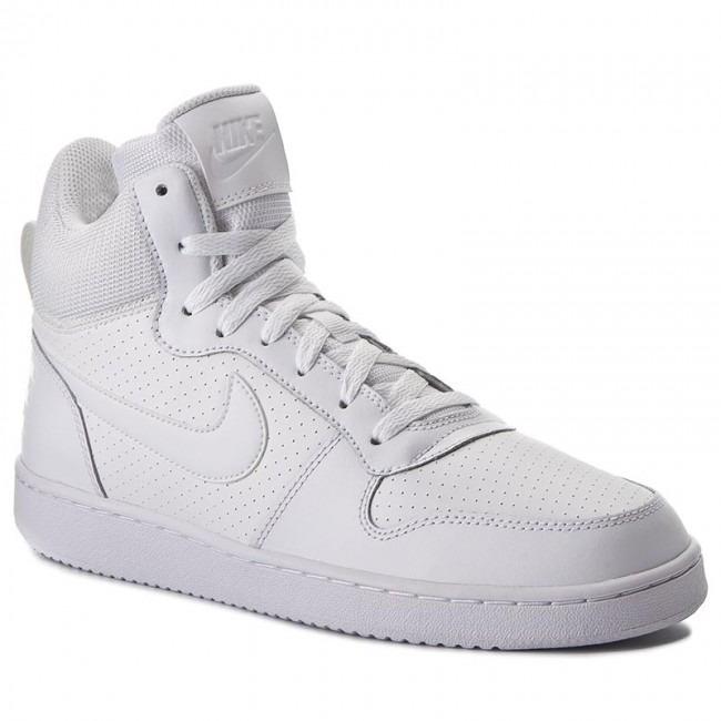 Tenis Nike Court Borough Mid Blancos Basketball -   1 74ecc4039f9