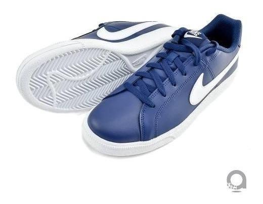 Detalles de Nike Zapatillas Court Royale Blanco Azul Claro 749747 108