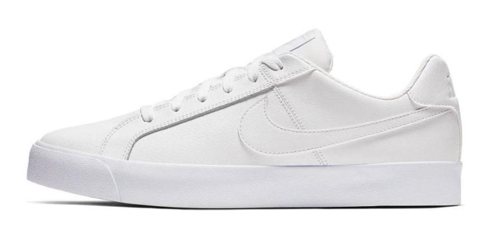 Tenis Nike Court Royale Blanco Hombre Bq4222 101