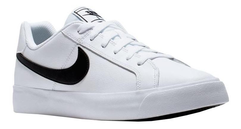 Tenis Nike Court Royale | Hombre Blanco Original Bq4222 103
