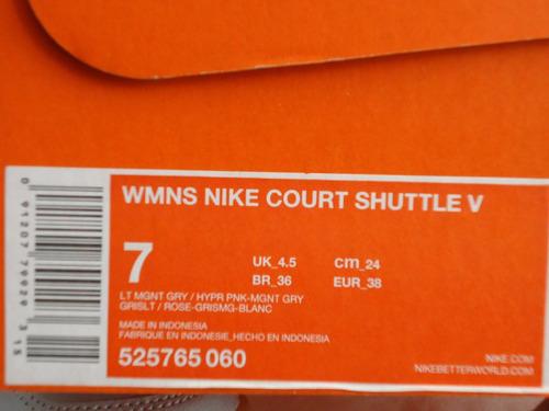 tenis nike court shuttle v