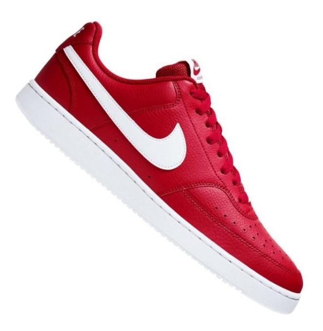 Tenis Nike Court Vision Low M | Hombre - Rojo - Cd5463-600