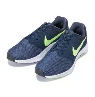 best sneakers f5636 c33bb tenis nike downshifter 7 masculino azul e verde - original
