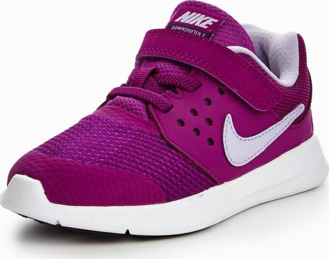 93307e56e062e Tenis Nike Downshifter 7 Morado Niña 100%original 869971-500 ...