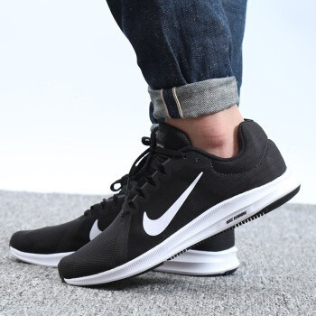 Tenis Nike Downshifter 8 Negro blanco 908984-001 -   1 f0e52b04e337