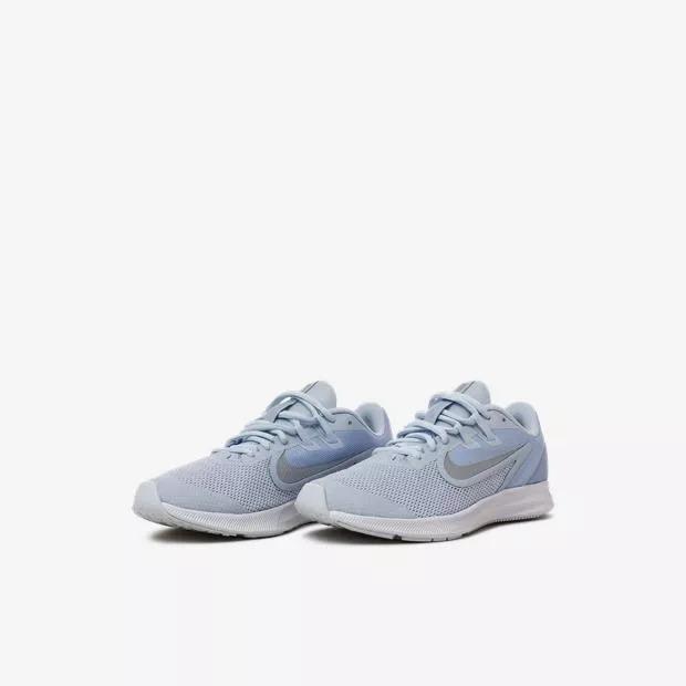 Tenis Nike Downshifter 9 Running Jr Niño Azul Celeste Origin