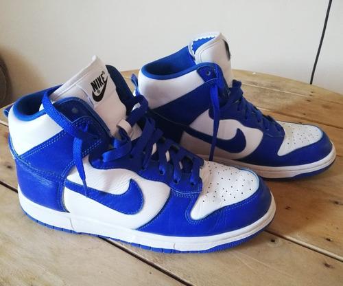 best sneakers 08fbe a1a4c Tenis Nike Dunk High Id (azul Y Blanco) - $ 1,823.00