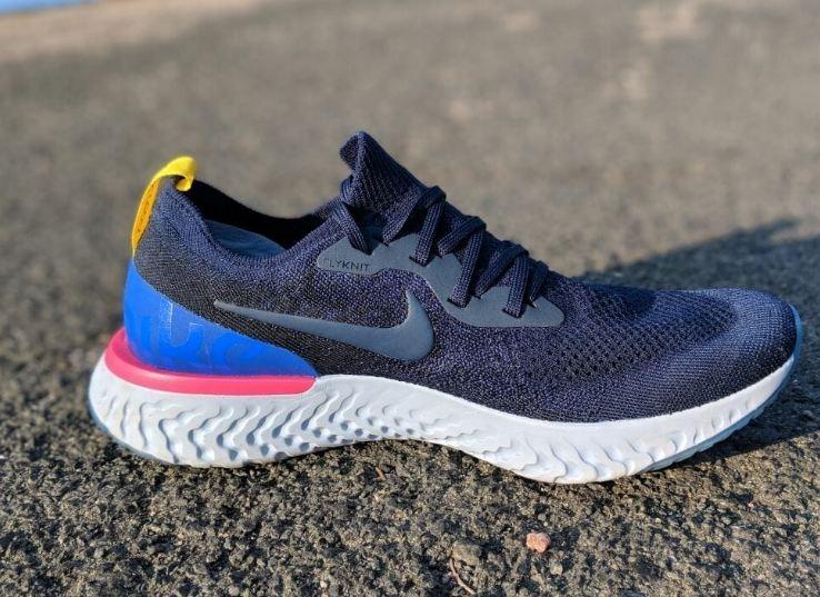 aab463e80c4 Tenis Nike Epic React Flyknit Original Dark Blue Modelo 2018 - R ...