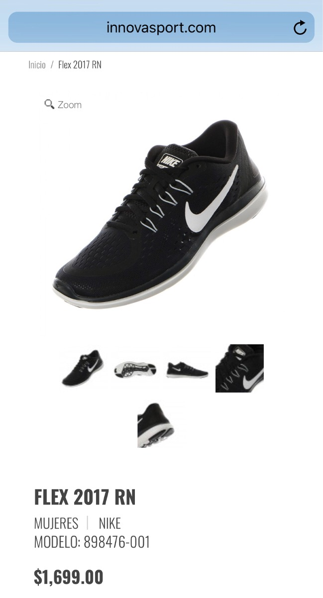 Rn Mejor Nike Precio Nuevos Tenis Originales Flex 2017 Al wq4FtTH