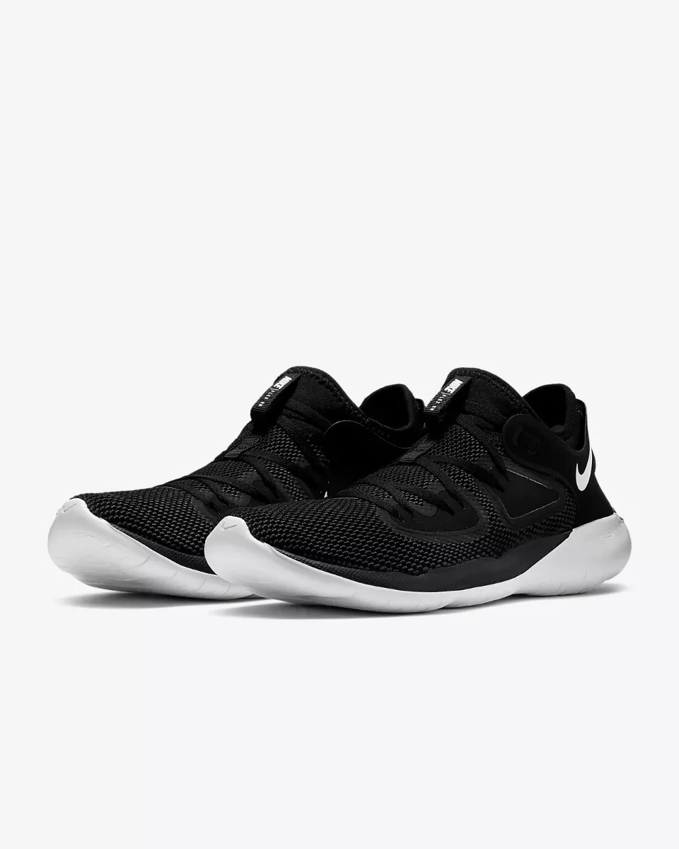 Tenis Nike Flex 2019 Rn Negro Hombre Correr Run Originales