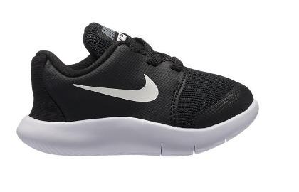 727e157f77 Tenis Nike Flex Contact 2 Negro Blanco Bebe 11-16 Originales ...
