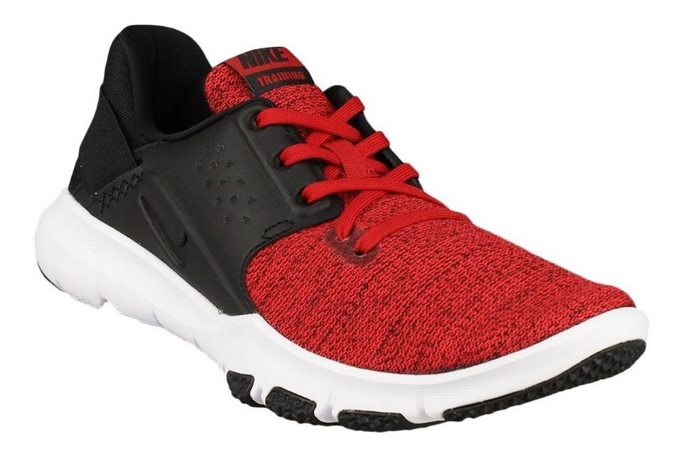Tenis Nike Flex Control Tr3 Negro Rojo Blanco 25 28 Zx