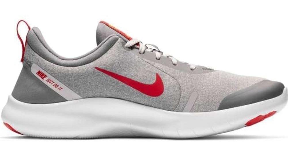Tenis Nike Flex Experience Run 8 Gris Rojo Caballero 2019