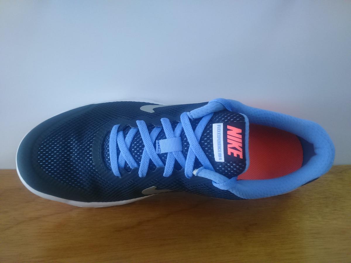 Tenis Nike Flex Experience Running 4 Azul Marino Dama - $ 1,399.00 ...