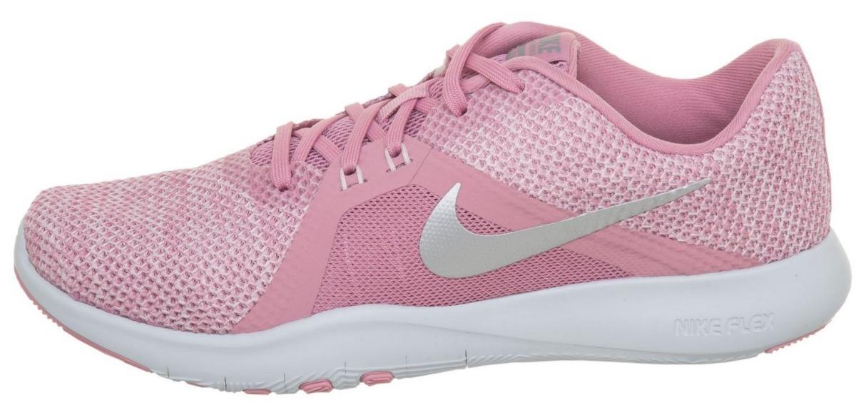 2debd6c22c839 Tenis Nike Flex Trainer 8 K82182 Talla 22-26 Niña Sc -   2