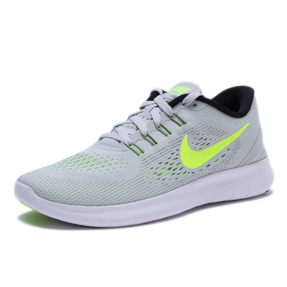 buy popular 9ed92 61db7 Tenis Nike Free Rn Running Para Dama 24 Gris Con Verde -  1,