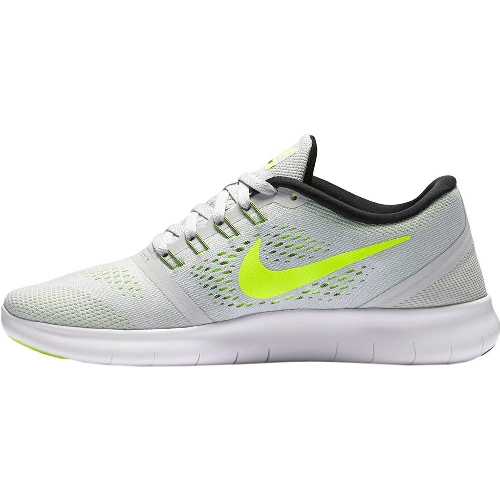cc72bd427be tenis nike free rn running para dama 24 gris con verde. Cargando zoom.