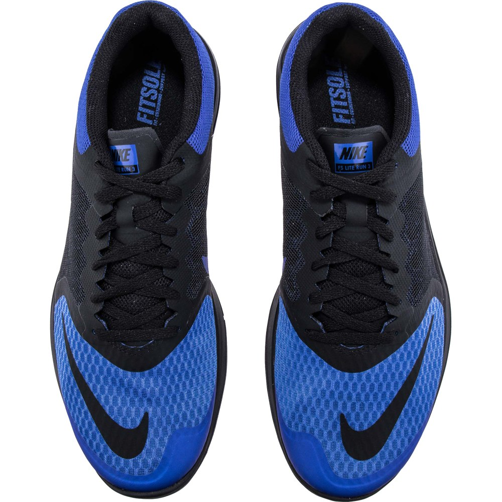 8b03efcb48d tenis nike fs lite run 3 azul negro. Cargando zoom.
