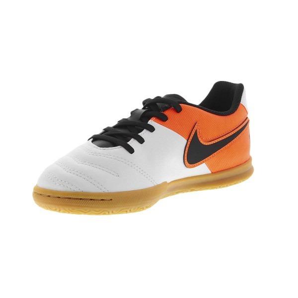 5b08d5d60c146 Tenis Nike Futsal Tiempo Rio 3 Infantil Branco Original+nf - R  204 ...