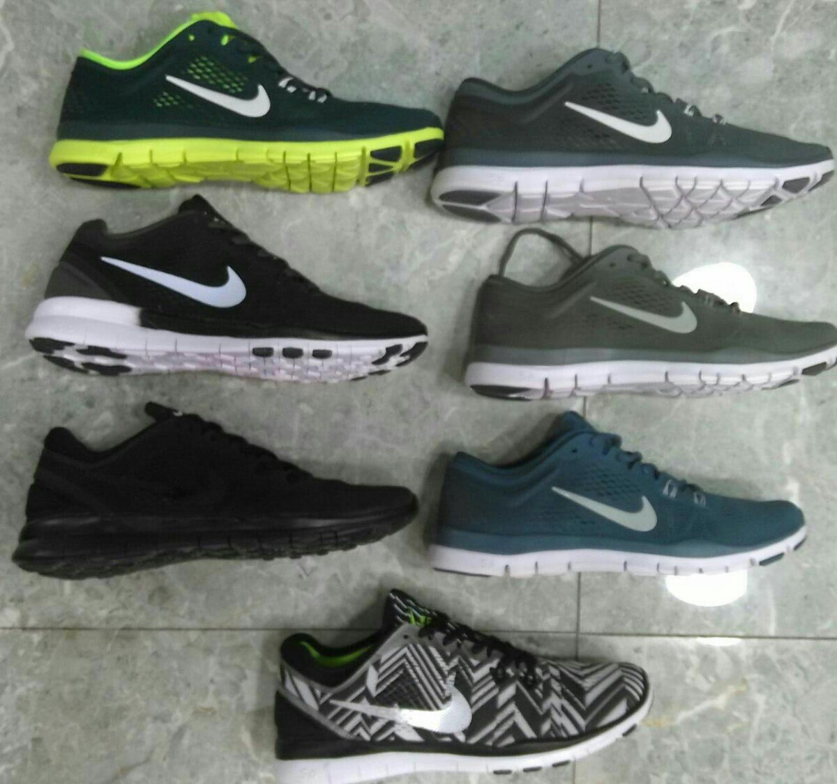tenis nike free ombre
