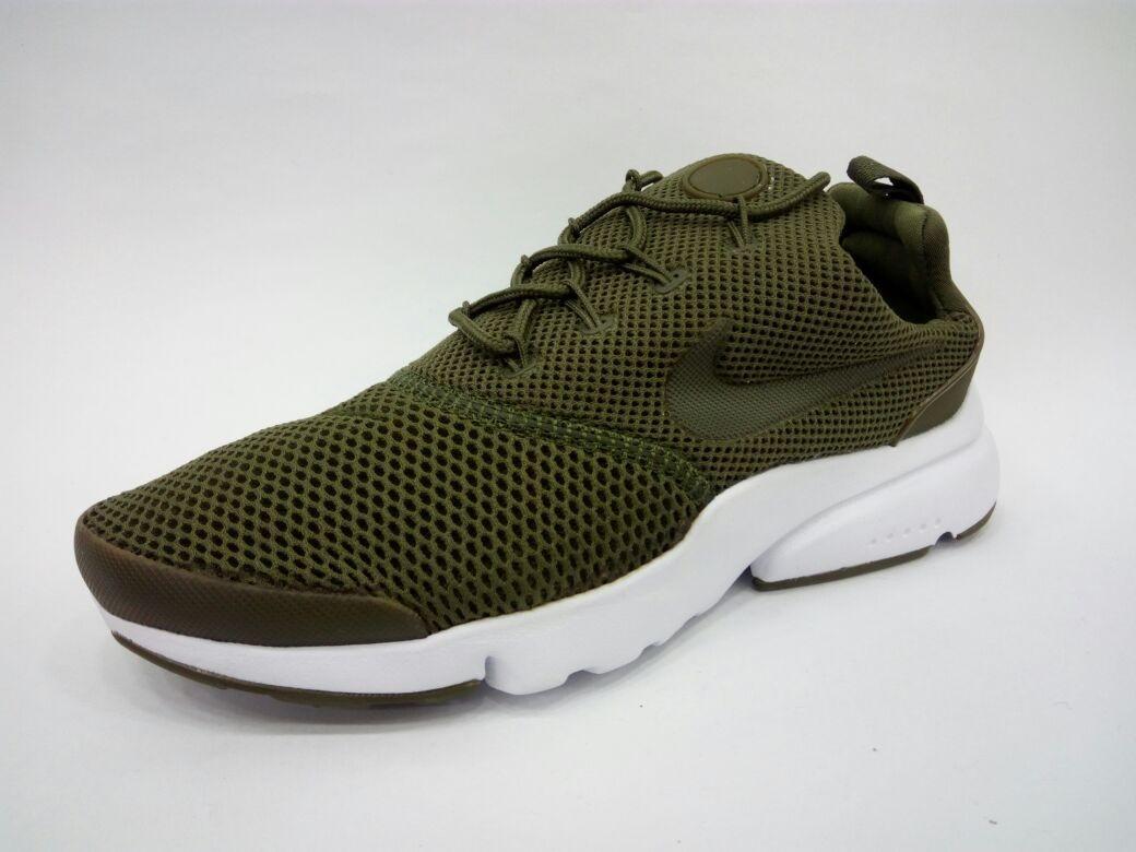 zapatillas nike hombres verde