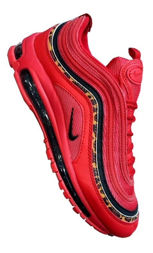 Nike Air Max 97 QS NegrasRojasMetallic GoldBlancas AT5458 002