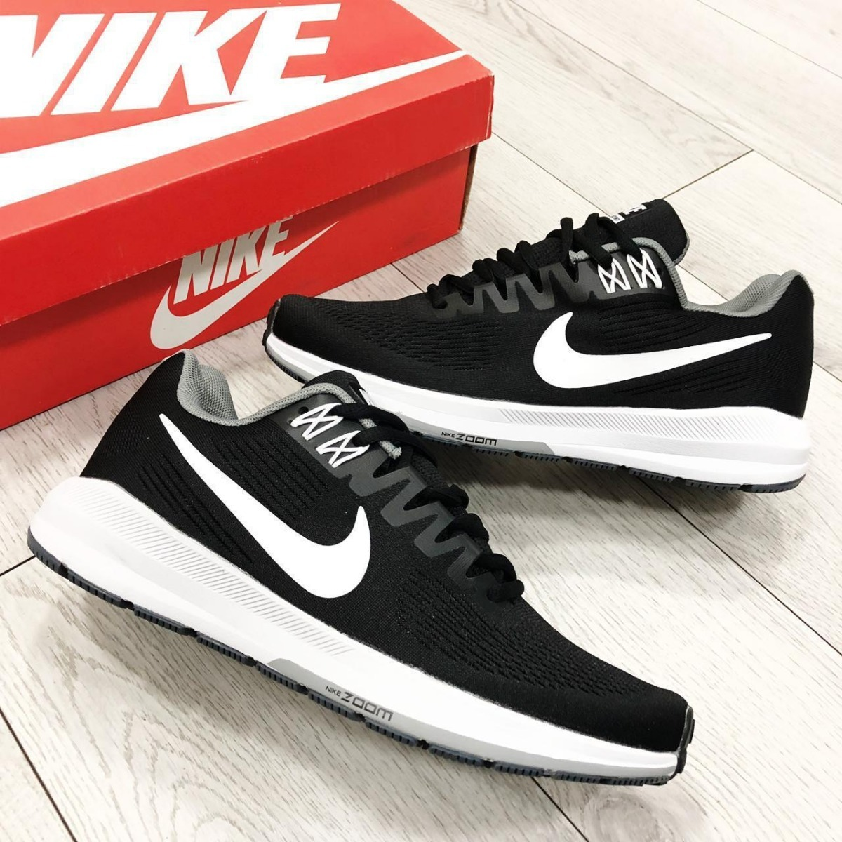 0ffb43288e Zapatillas Tenis Nike Air Zoom Structure 22 Hombre Original ...