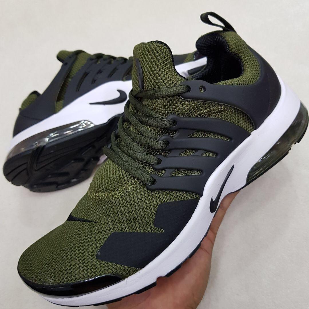 zapatillas hombre verdes nike