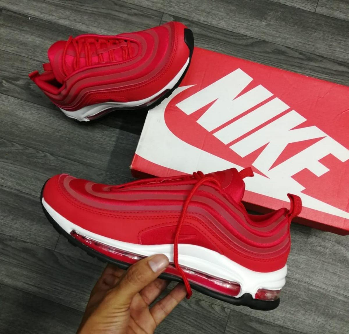buy popular 7d2f0 114eb 900 2000 Rojas Hombre 159 Nike Max Zapatillas Air Tenis 97 En qSw7HU