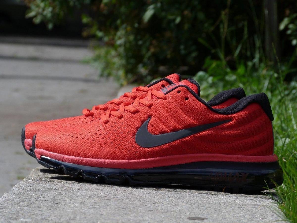 Tenis Zapatillas Nike Air Max 360 - Rojo Negro Hombre 2018 ... a64aa15832529